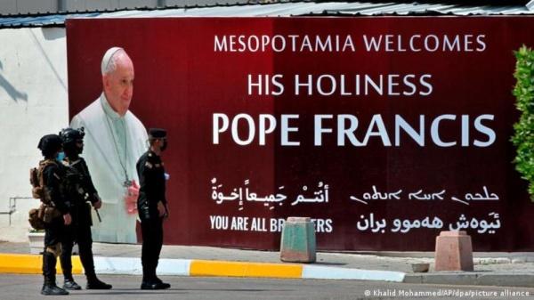 في يومه الثالث.. البابا فرنسيس يلتقي مسيحيي شمال العراق - صحيفة الوطن